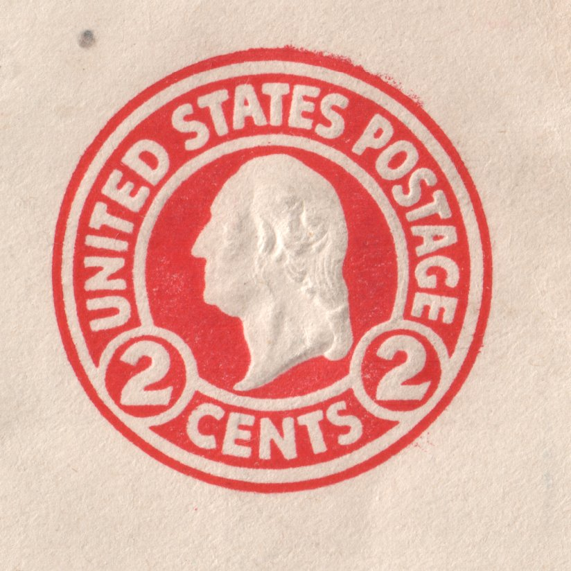 Usually The Dieis Covered By The Stamp Envelopes In 6 And 10 Have Been Seen